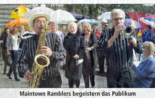 Presse 2013 - Maintown Ramblers bebeistern das Publikum